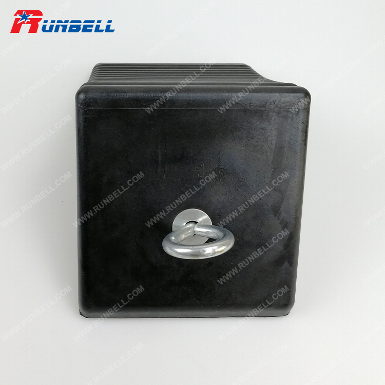 RUBBER WHEEL CHOCK - TS012-S