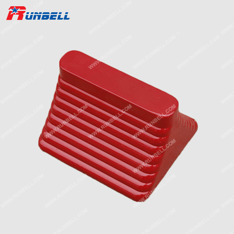 RUBBER WHEEL CHOCK - TS065G