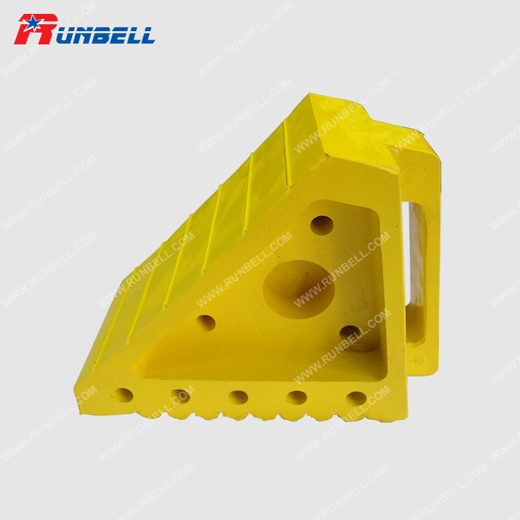 YELLOW RUBBER CHOCK - TS001G