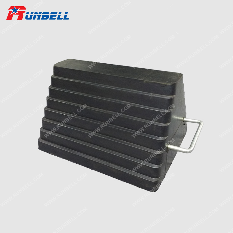 RUBBER WHEEL CHOCK - TS003-U