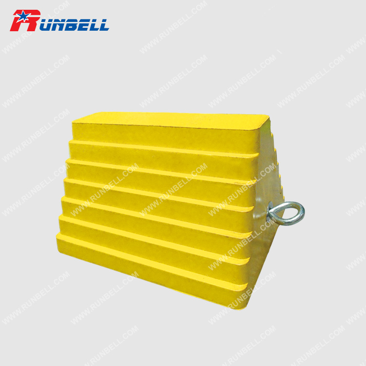 YELLOW RUBBER CHOCK - TS037G