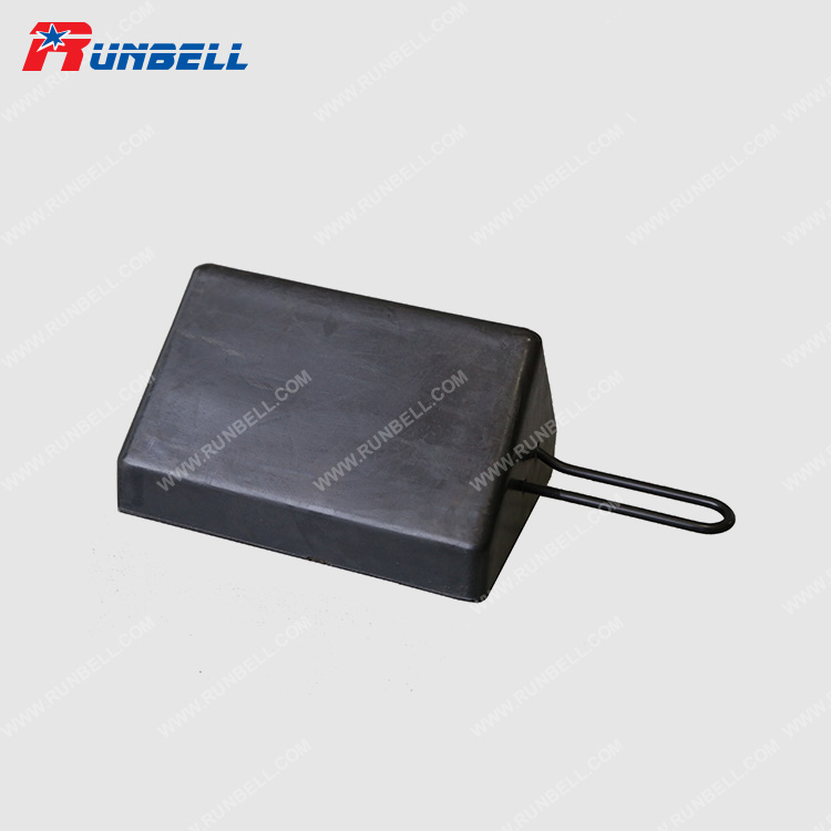 RUBBER WHEEL CHOCK - TS016B